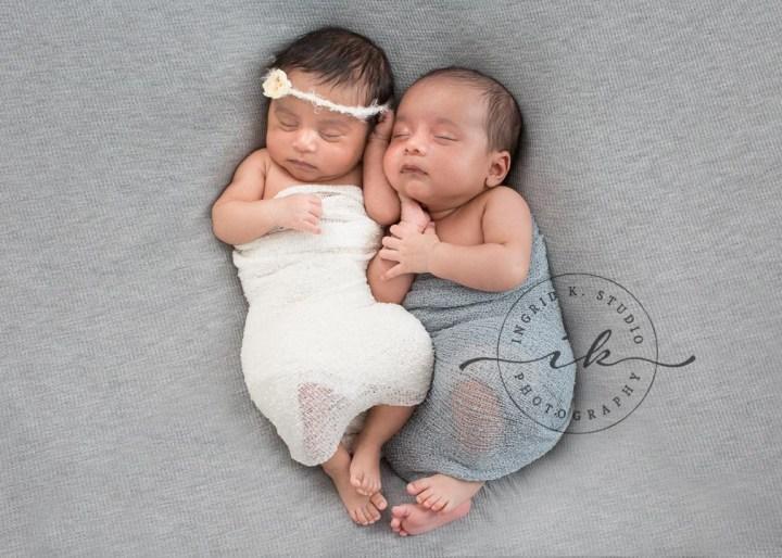 Yuvan & Nyra | Jersey City NJ Newborn Twins Photographer