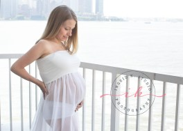 Ingrid K. Studio Maternity Portrait Session