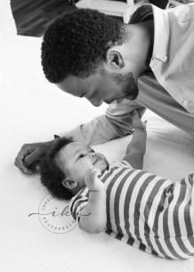 Ingrid K. Studio Baby Portrait Session