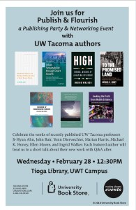 Publish and Flourish - Lightening Book Talks at UW Tacoma - Ingrid K ...