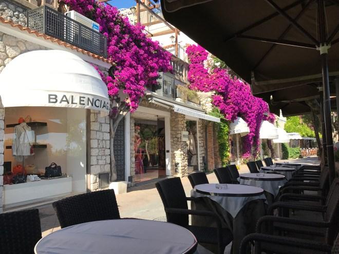 Balanciaga in Villa Camerelle, Capri, Italy