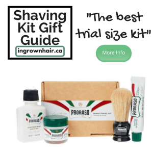 "We love this little trial size kit so we have included it on or blog ""Shaving kits are the perfect gift idea"""