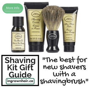 Shaving kits are the perfect gift idea. This is the best new starter kit!