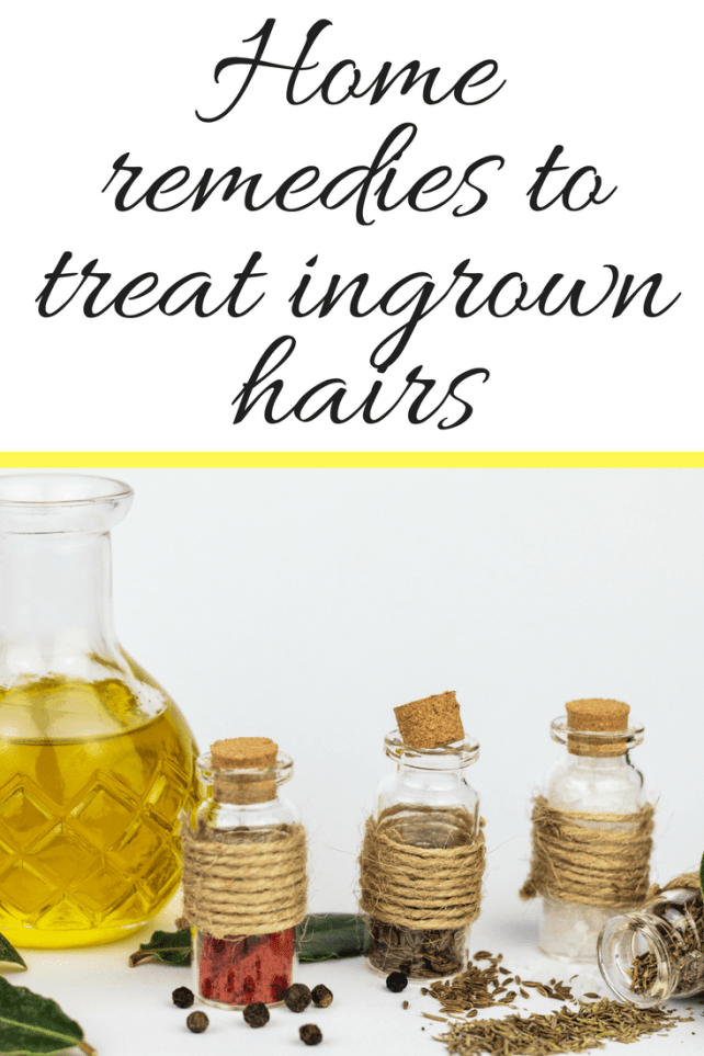 There are countless ingredients, herbs, flowers,  oils and common home remedies to treat ingrown hairs that can help with ingrown hairs.