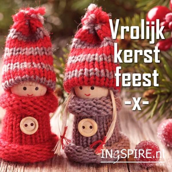 Vrolijk kerst feest! - Digitale kerstkaart   ingspire