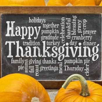 inspiratie voor thanksgiving
