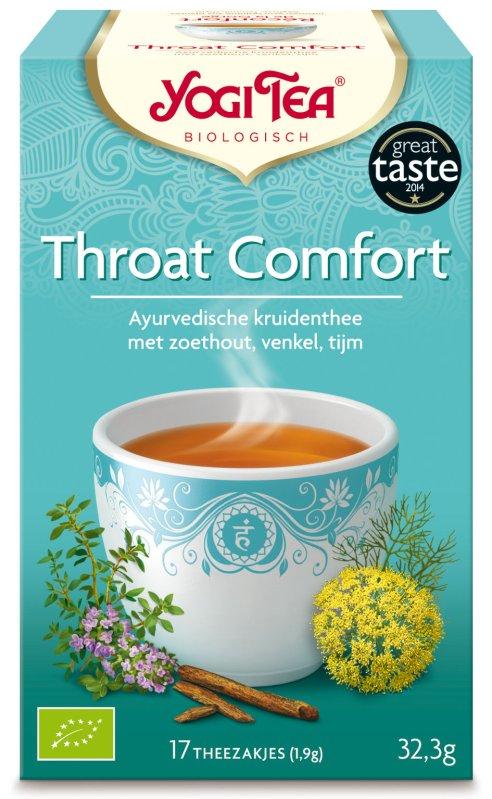 Gezonde Yogi Tea voor de keel | mindful leven ingspire