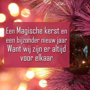 Een magische kerstwenskaart: vriendschap | www.ingspire.nl