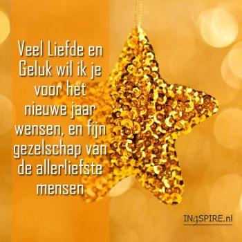 Kerst spreuk over Liefde en Geluk