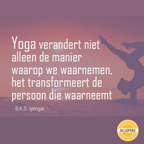B.K.S. Iyengar - yoga quote