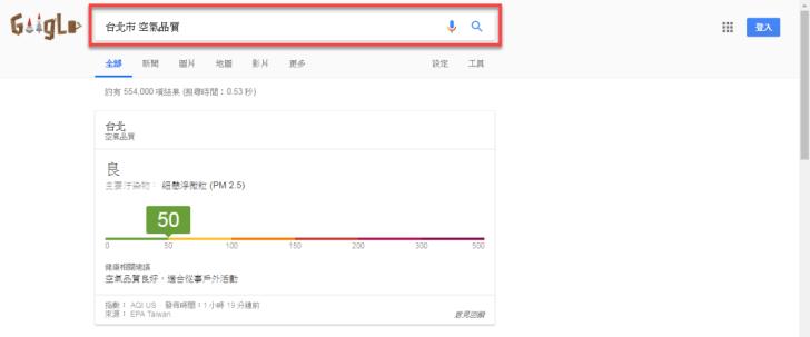 google-search-aqi