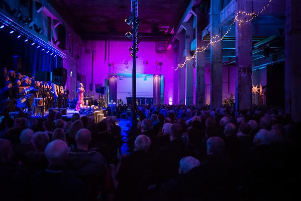 Konsert på Hunsfos. jula 2014
