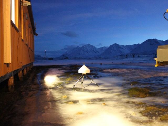 NyÅlesund antenna GPS, foto di Ingrid Hunstad