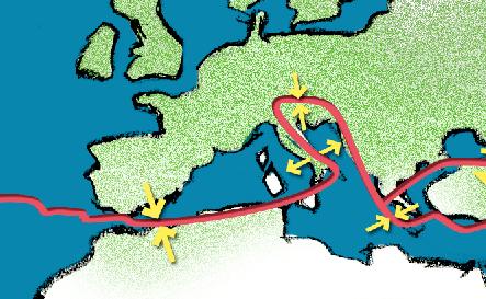 Cartina Italia Terremoti.I Terremoti In Italia Ingvterremoti