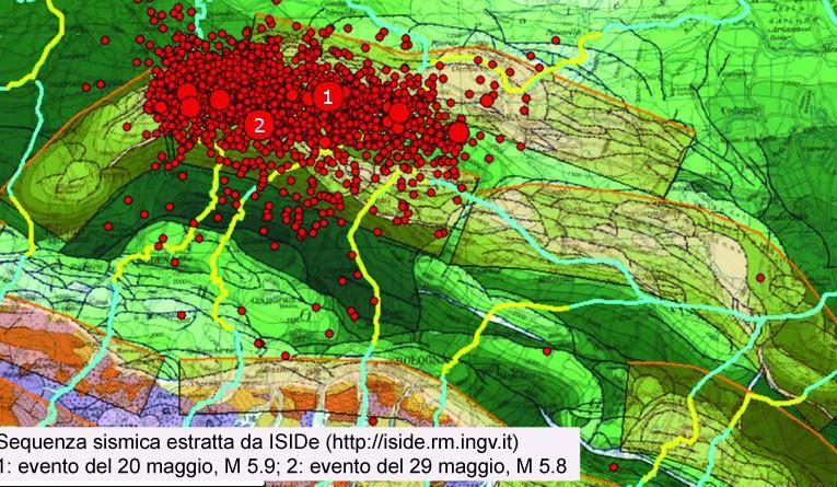 Terremoto in Pianura Padana: l'individuazione geologica delle sorgenti sismogenetiche