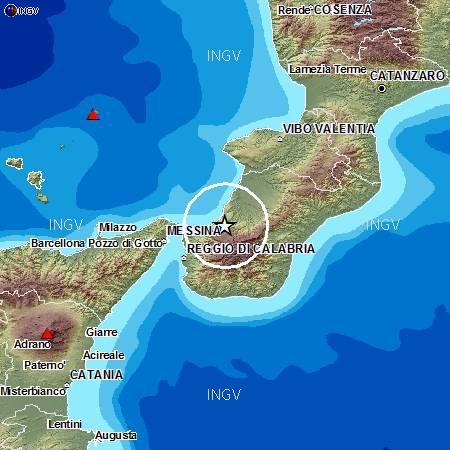 Terremoto profondo nella Piana di Gioia Tauro (RC), M4.4, 13 novembre ore 08.06