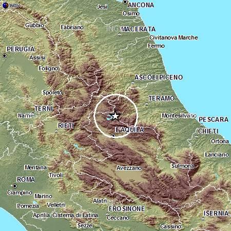 Terremoto in Abruzzo alle 5:33, Magnitudo (rivista) 1.8
