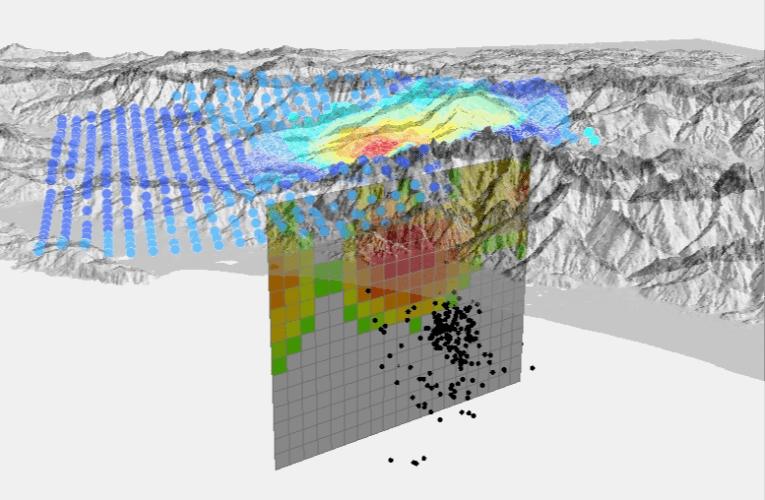 Terremoto in Lunigiana: modello preliminare di faglia da dati satellitari
