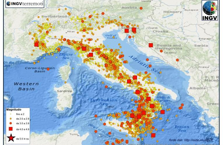 SPECIALE 2014, un anno di terremoti