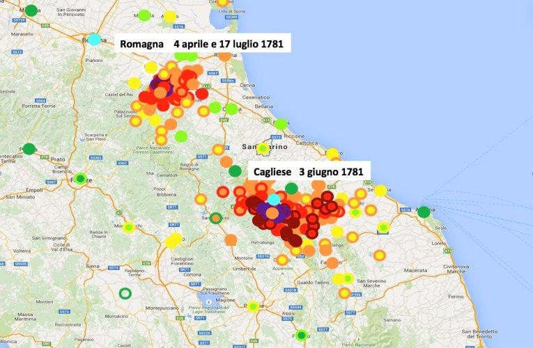 I terremoti nella STORIA: Il terremoto del 3 giugno 1781 nell'Appennino marchigiano, un evento disastroso in un periodo di intensa attività sismica tra Romagna e Marche