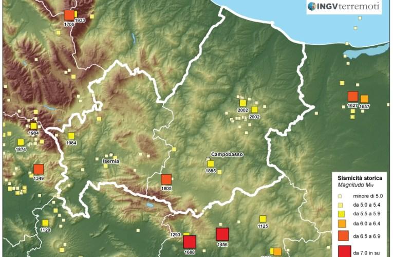 Eventi sismici in provincia di Campobasso: aggiornamento del 17 gennaio 2016 e approfondimento