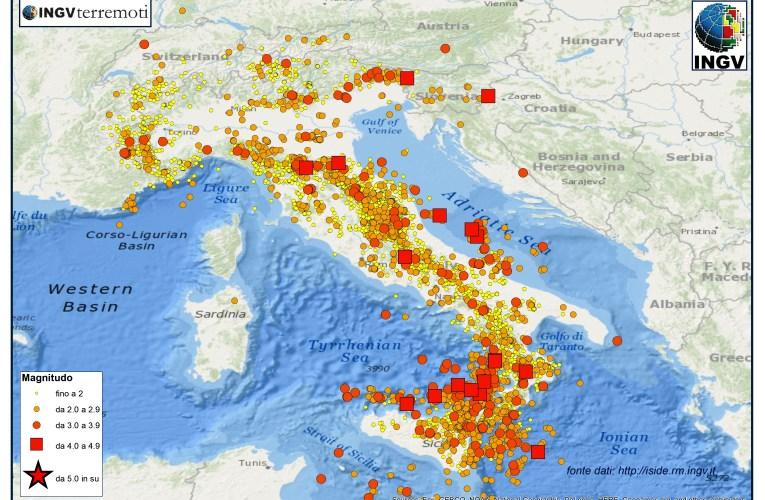 SPECIALE 2015, un anno di terremoti