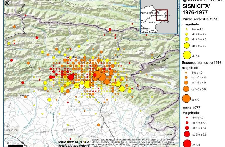 I terremoti del Friuli del 1976 e le sequenze multiple di terremoti