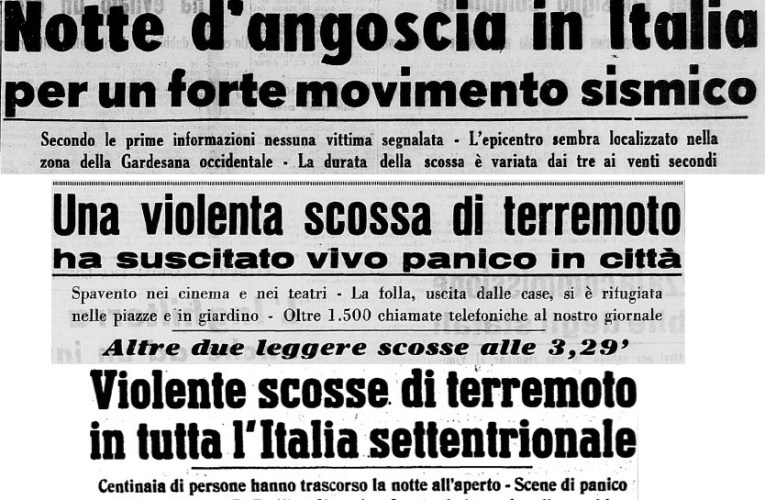 Caviaga, 15 maggio 1951: davvero un terremoto indotto?