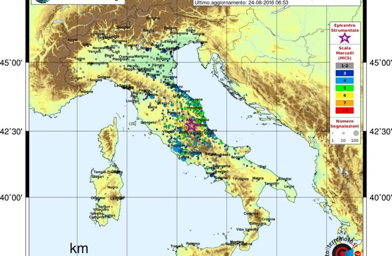 Sequenza sismica tra le province di Rieti, Perugia, Ascoli Piceno, L'Aquila e Teramo: aggiornamento e approfondimento