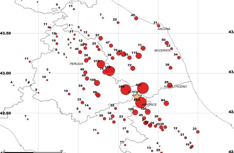 Terremoto in Italia centrale: Analisi dello scuotimento del terreno