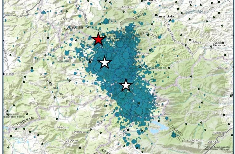 Sequenza sismica in Italia centrale: nuovo evento di magnitudo 5.4, 26 ottobre 2016, ore 19:10