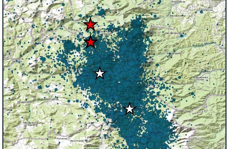 Sequenza sismica in Italia centrale: nuovo evento di magnitudo 5.9, 26 ottobre 2016, ore 21:18