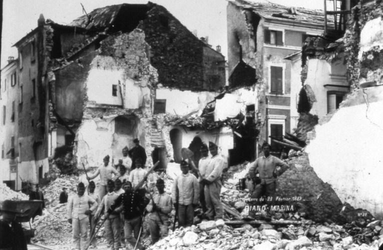 I terremoti nella STORIA: il terremoto della Liguria del 23 febbraio 1887
