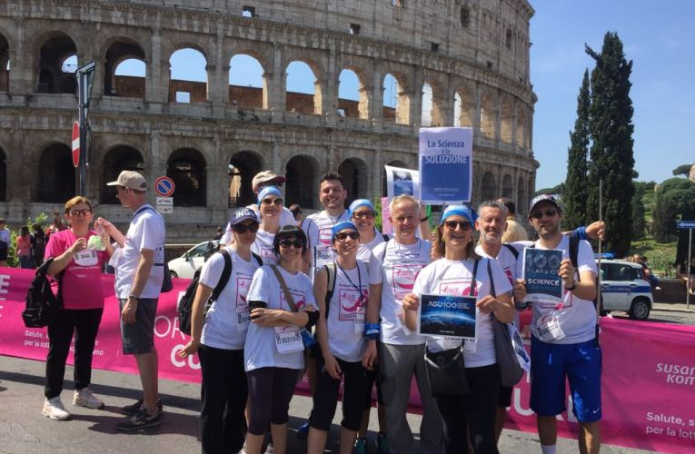L'INGV alla Race for the Cure 2018