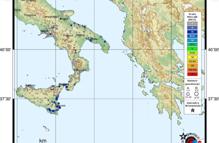 I terremoti profondi della Grecia: risentimenti anomali in Italia