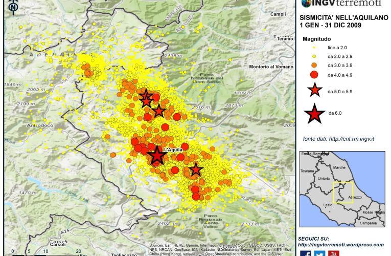 Ricordando il terremoto del 6 aprile 2009 a L'Aquila