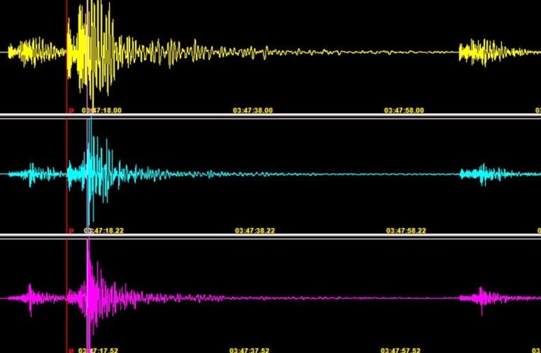 Sequenza sismica in provincia di Trapani, settembre 2020