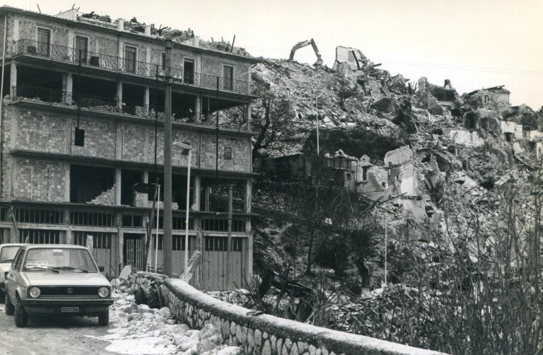 Quarant'anni dal terremoto del 23 novembre 1980