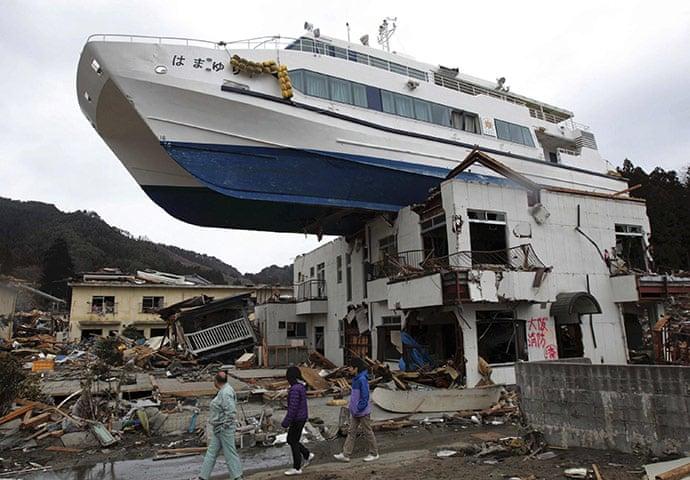 Danni causati dallo tsunami nella Prefettura di Iwate (Public Domain, ph. Hiroto Nomoto)