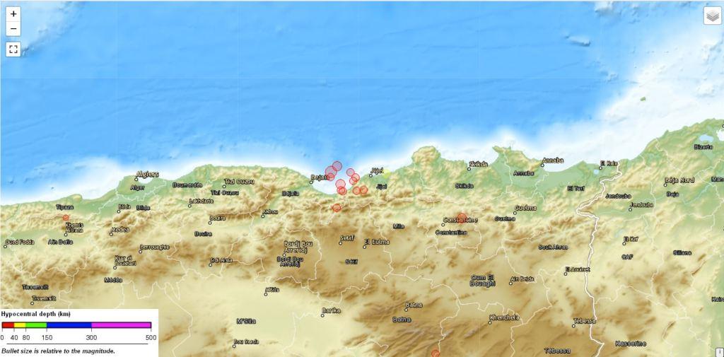 Terremoti in Algeria - marzo 2021