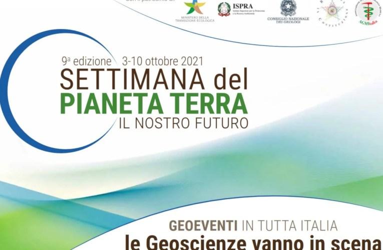 L'INGV partecipa alla Settimana del Pianeta Terra