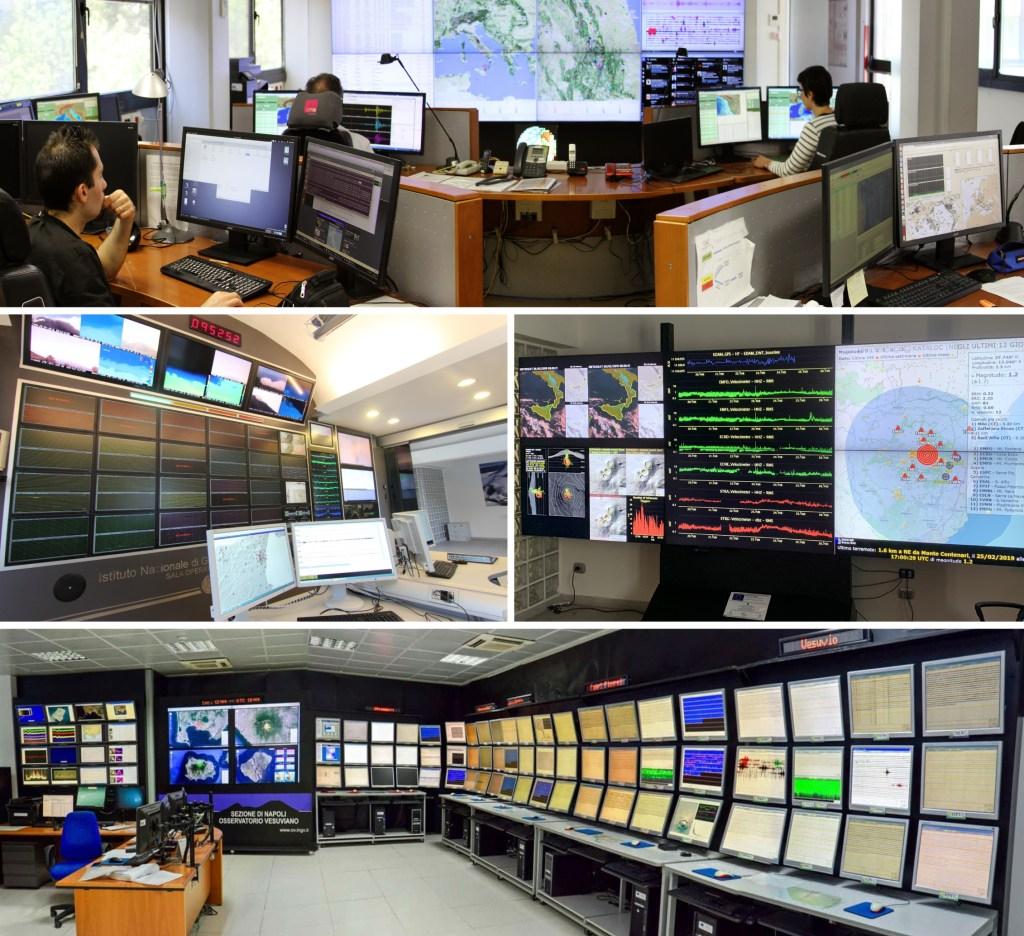 Nuovi strumenti per far conoscere le Sale Operative dell'Istituto Nazionale di Geofisica e Vulcanologia