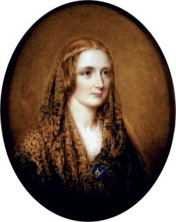 Figura 2 - Mary Shelley, in un ritratto di R. Easton.