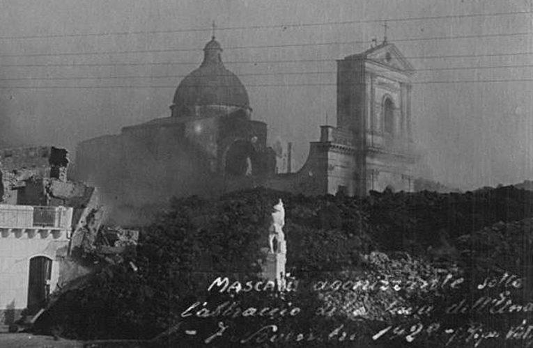 L'eruzione dell'Etna del 1928 e la distruzione di Mascali