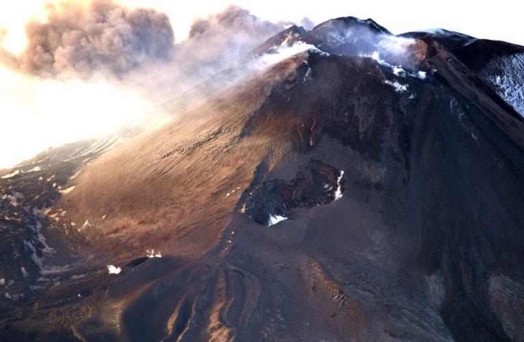 Mappa preliminare dell'eruzione laterale dell'Etna del 24-27 dicembre 2018