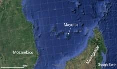Figura 1 - ubicazione dell'isola di Mayotte, arcipelago delle isole Comore.