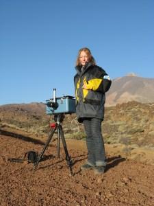 21 - INGV - campagna di misure sul vulcano Teide, isole Canarie