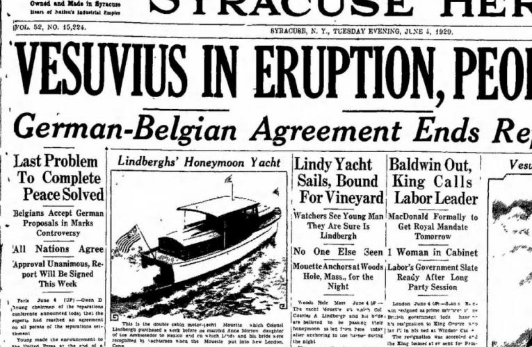 L'eruzione del Vesuvio del 1929