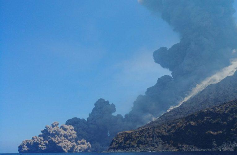 Quando un flusso piroclastico scorre sul mare: esempi a Stromboli e altri vulcani