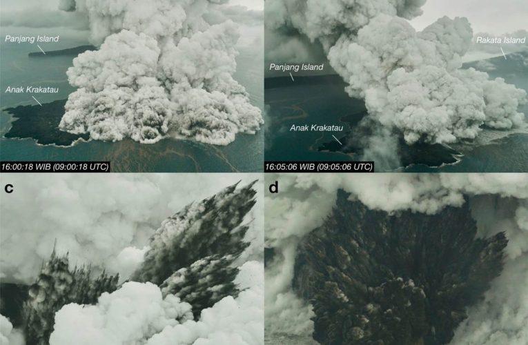 Anak Krakatau e i fulmini
